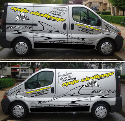 D coration camion kit d co moto quad karting jet ski - Decoration interieur camion ...
