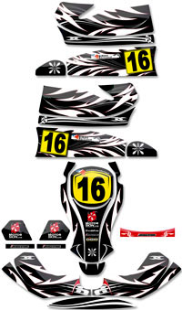 kit deco perso karting decoration karting